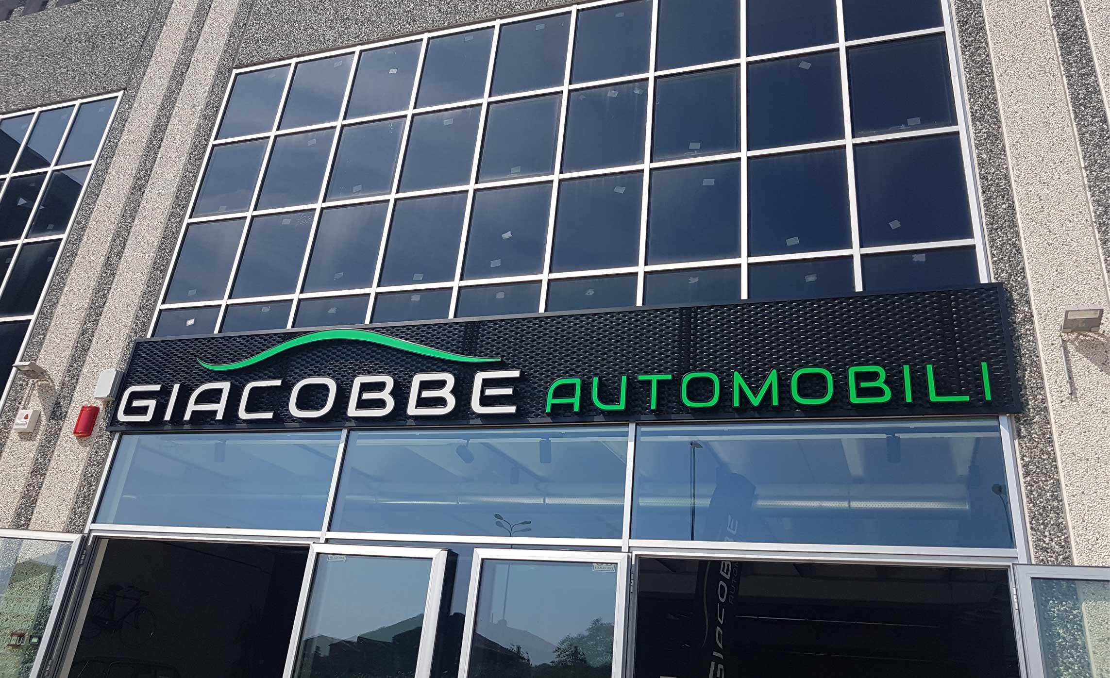 Creazione Logotipo Insegna Giacobbe Automobili